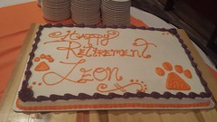 Clemson Black Alumni Council Retirement Party for Leon Wiles