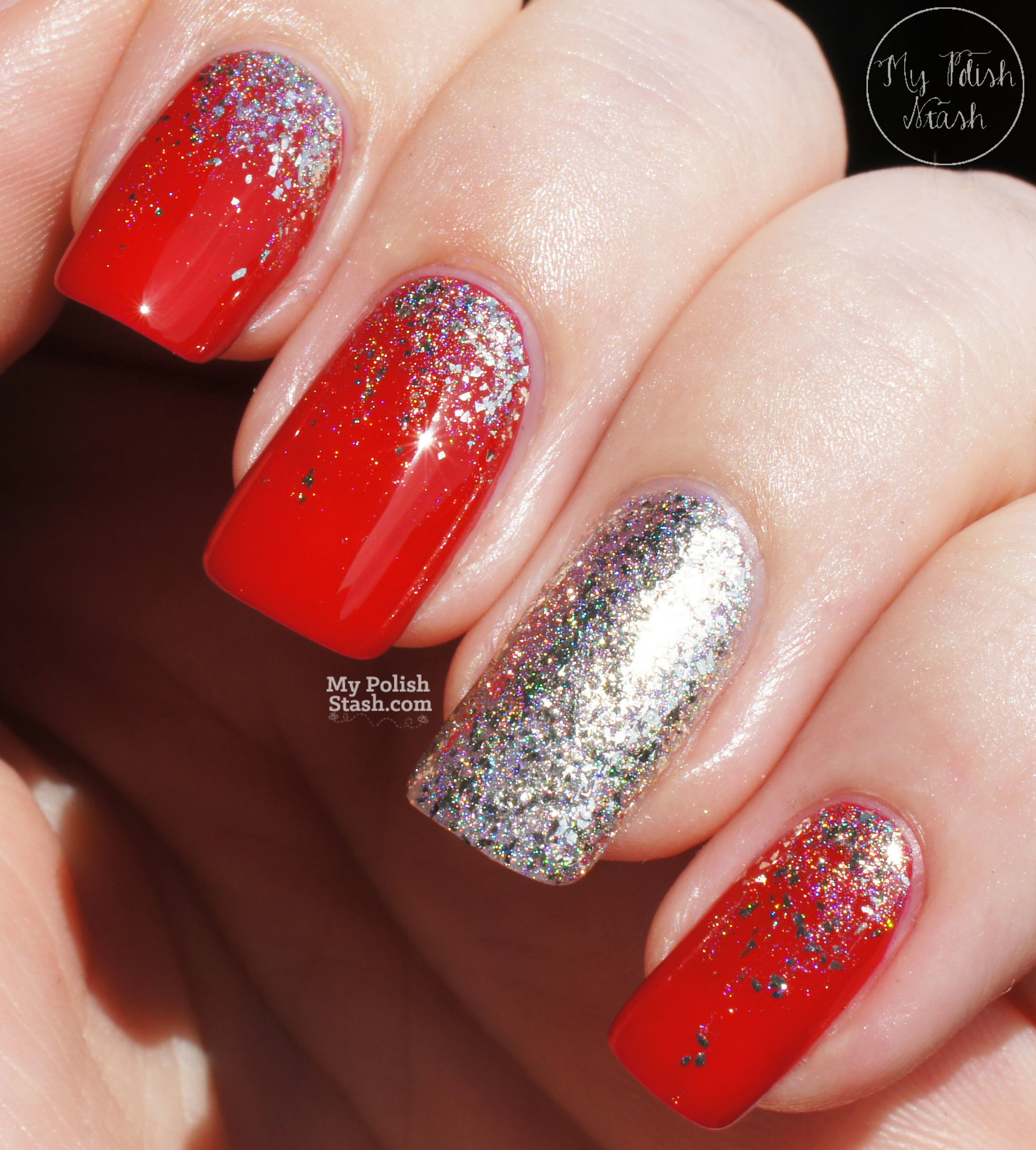 essie-really-red-FUNlacquer-pay-day-glitter-gradient-3