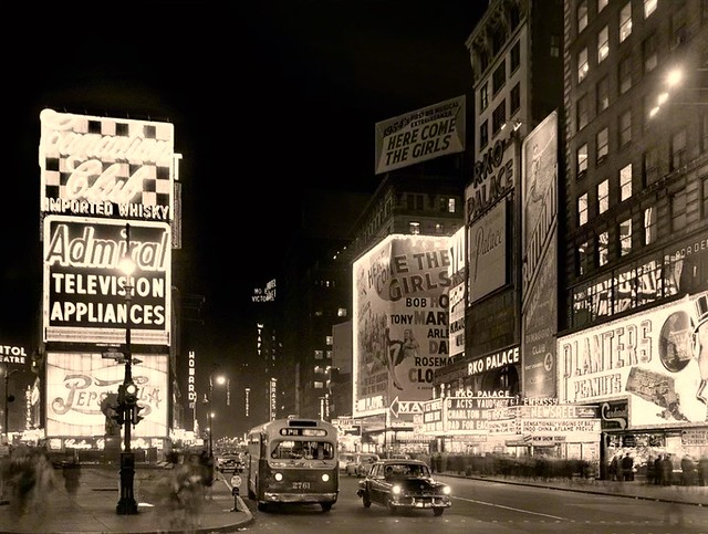 Times Square - 1954