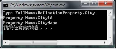 [C#] Reflection - Property