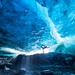 Glacier Cave Yoga by tobyharriman
