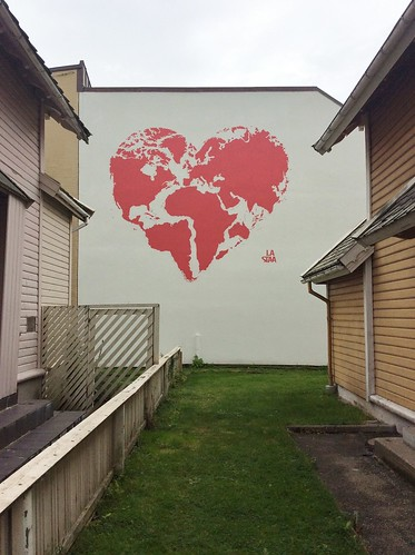 Stencil art by La Staa