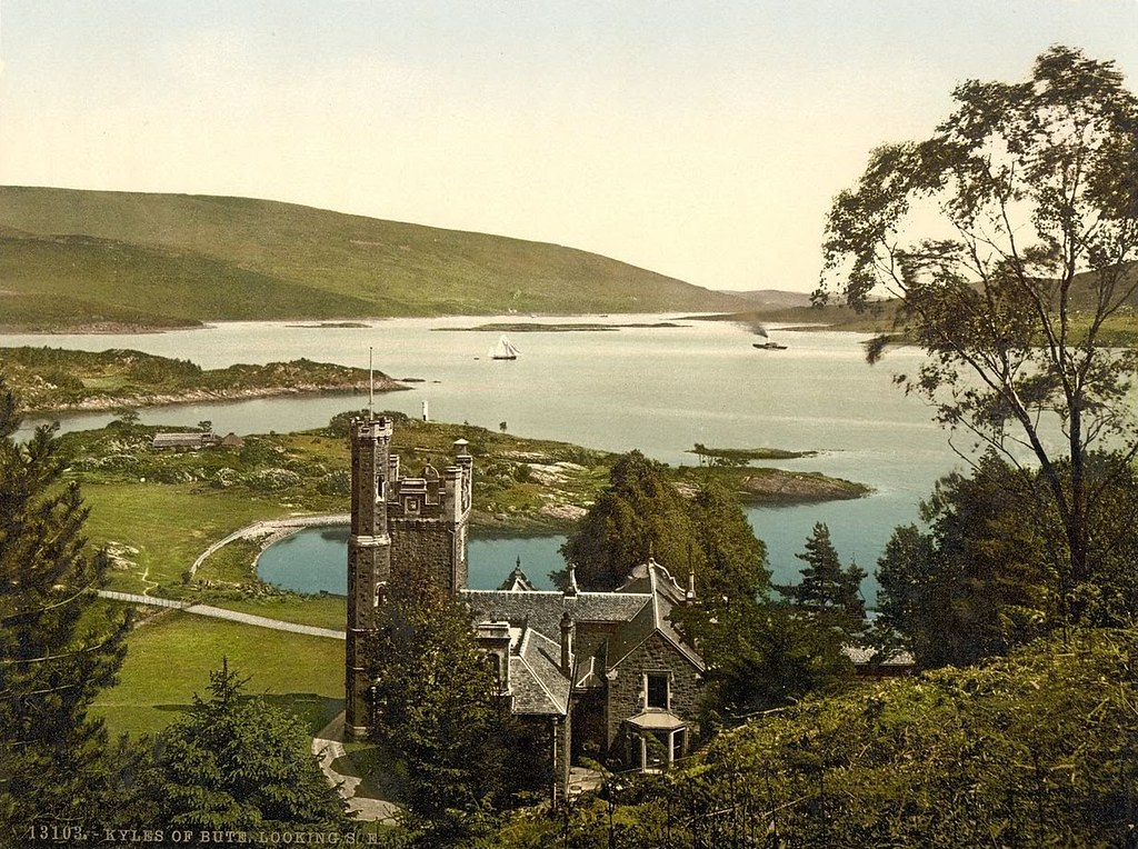 Looking S.E. (i.e., Southeast), Kyles of Bute, Scotland