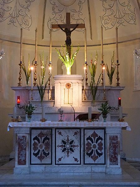 autel eglise de colonnata