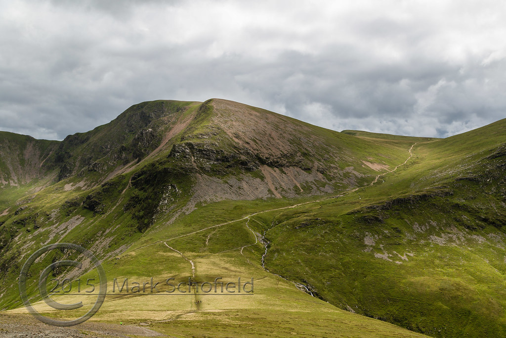 51ba97f4 ... Lake District Aug 2015 (2) 007 - Coledale Hause from Sand Hill | by