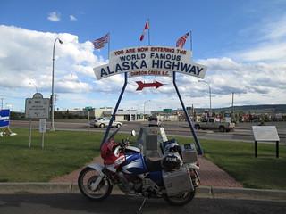 Dawson Creek, Mile '0' on the Alaska Highway