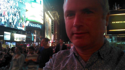 New York Times Square Aug 15 4