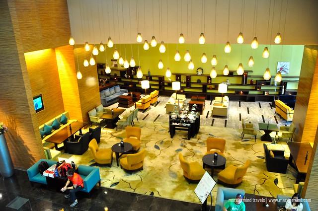 Dining at Manila Marriott Hotel