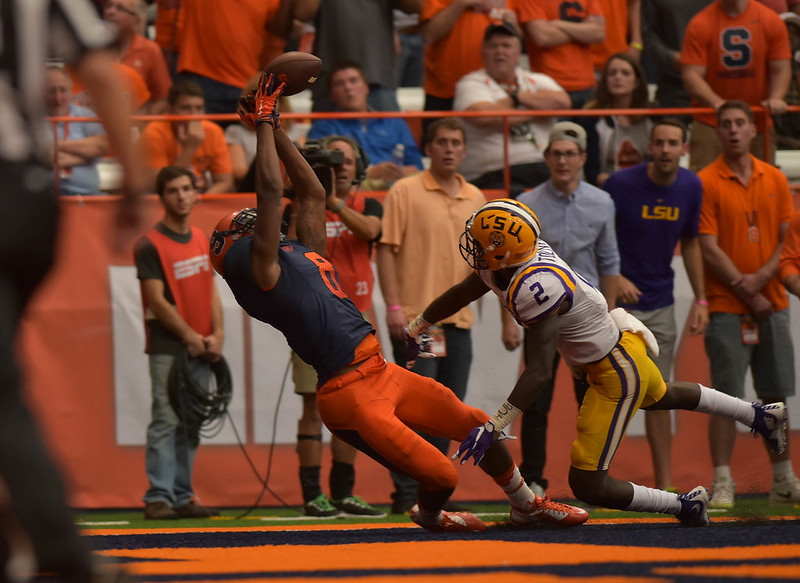 Syracuse vs Louisiana State University Football 2015