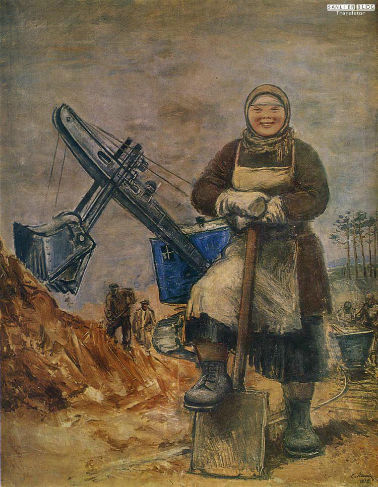 苏联20、30年代各类宣传画14