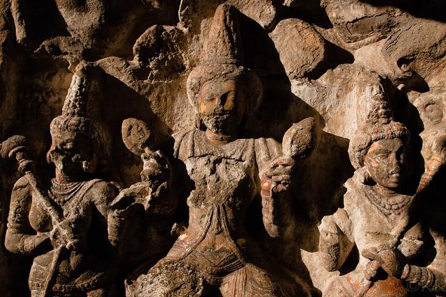 Stone Vishnu - Kailasanathar
