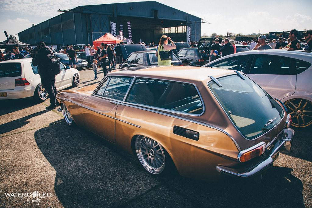 Bagged Volvo P1800