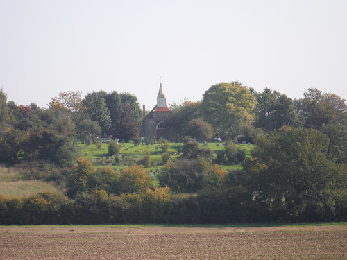 View back to Woodham Ferrers Church