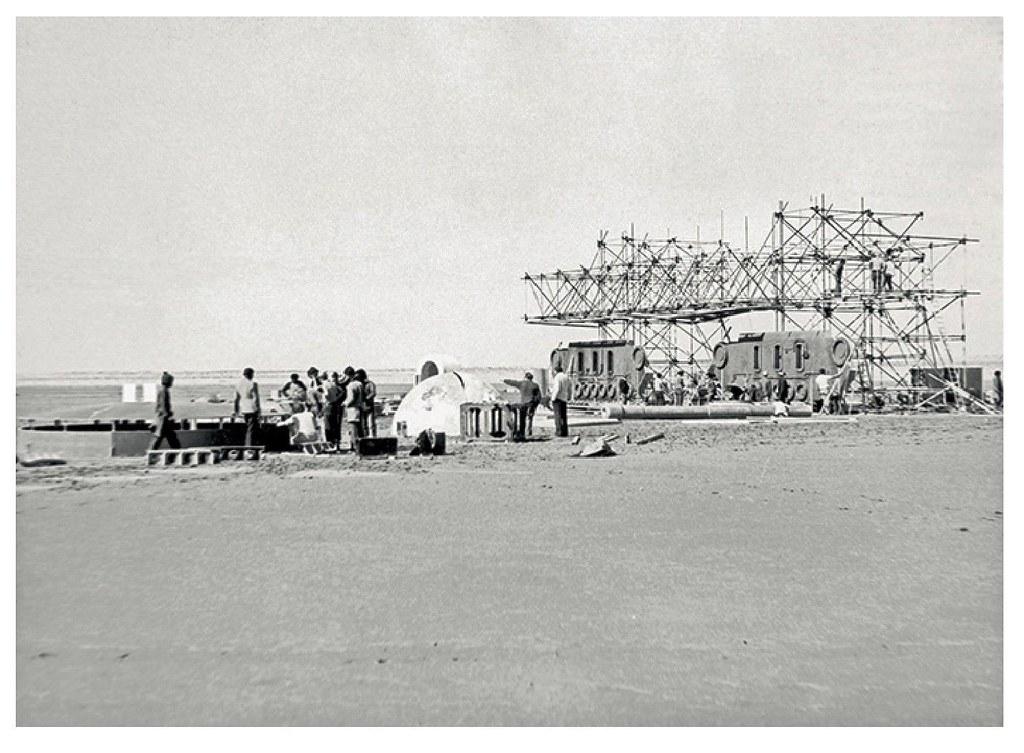 Lars Construction - Nefta, Tunisia - 1976