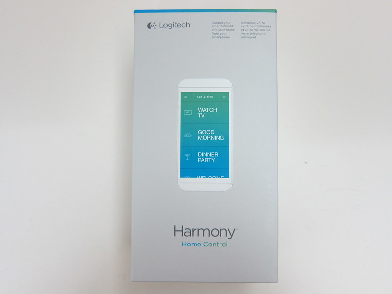 Logitech Harmony Home Control - Box Front