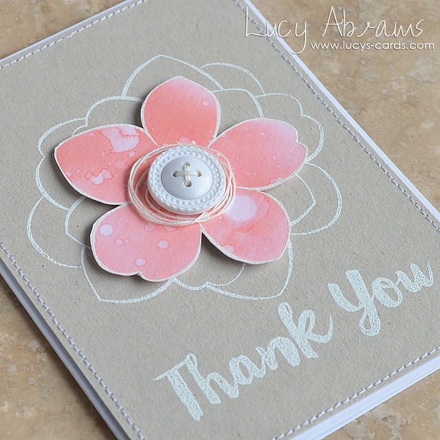 Thank You Flower by Lucy Abrams