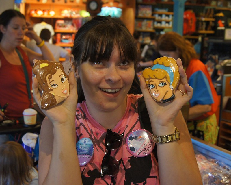 Disney Roundup - princess biscuits