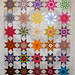 T-Stacked Star Sampler by Linda Rotz Miller Quilts & Quilt Tops