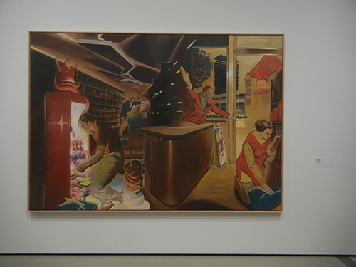 DSCN0510 _ Der Laden, 2005, Neo Rauch, Broad Museum, LA