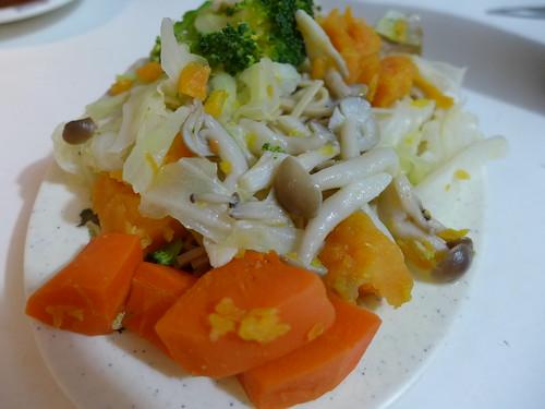 燕麥麵+綜合鮮蔬