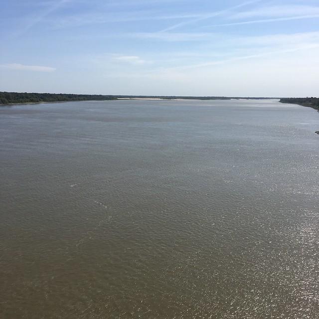 Mississippi River at Greenville, MS