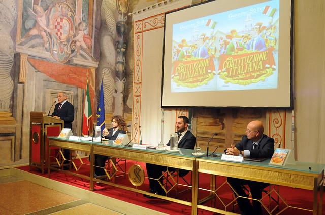 """Presentazione al Senato del libro """"La Costituzione italiana raccontata ai Ragazzi"""""""