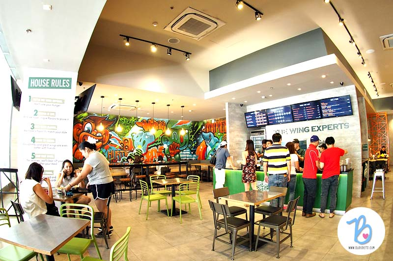 Wingstop Glorietta 2 branch