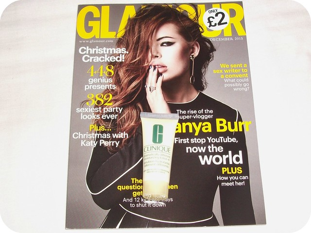 Glamour Clinique Freebies December 2015