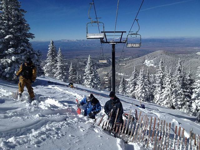 Ski Santa Fe ski patrol