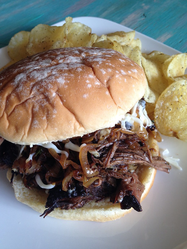 Slow-Cooker Pot Roast Sandwiches