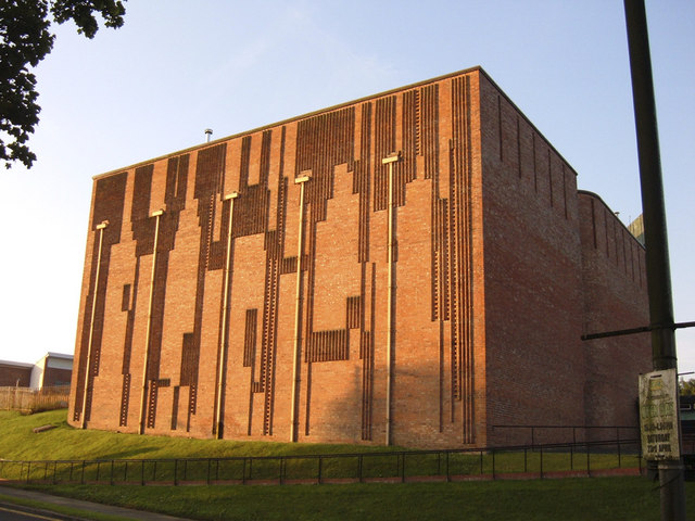 St Bride's East Kilbride, North Elevation