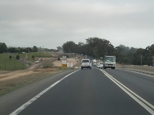 Construction Progress Berry Bypass Nov 2015