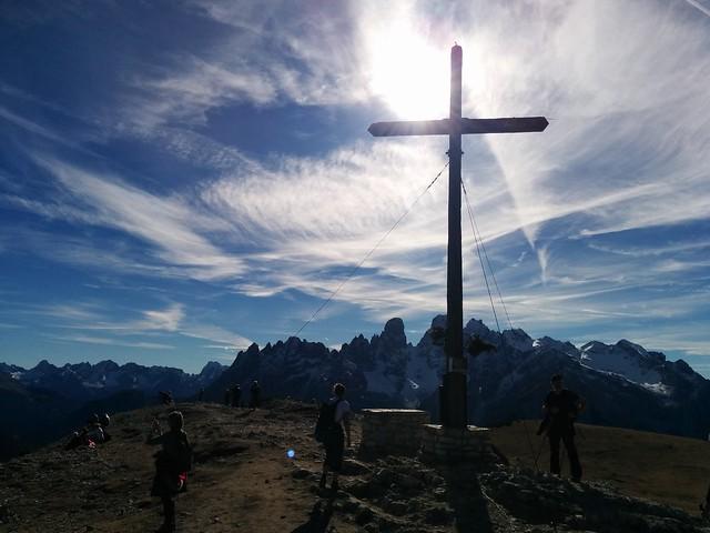 Gipfelkreuz am Strudelkopf