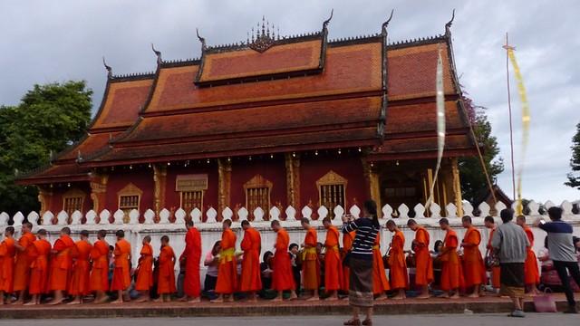 L'offrande au moine