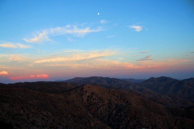 Sunset at Keys View