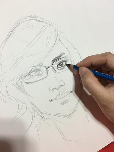 Portraits in pencil