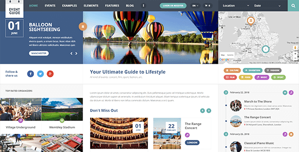 Ait-Themes Event Guide v1.11 - Directory WordPress Theme