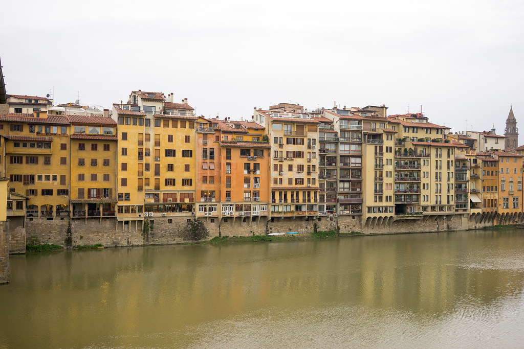 Arno River View From Hotel Continentale Florence