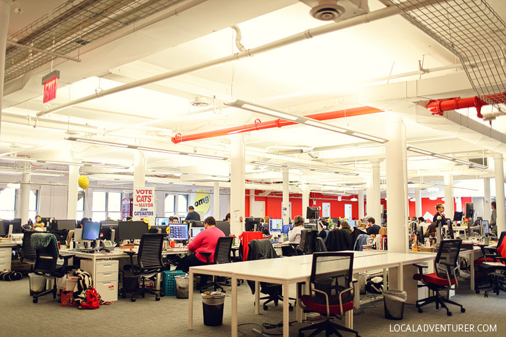 Where All the Internet Magic Happens - Touring the Buzzfeed Office New York.