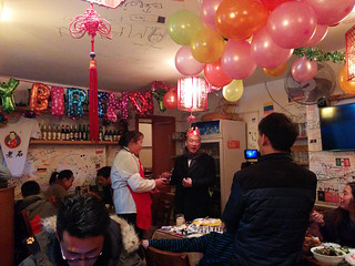 birthday celebrations @ Mr Shi's Dumplings