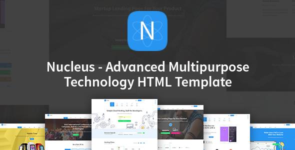 Nucleus v1.1 - Multipurpose Technology HTML Template