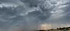 smoky spring storm