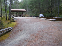 Group Campground, Sooke Potholes