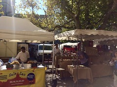 Forcalquier market - Photo of Lurs