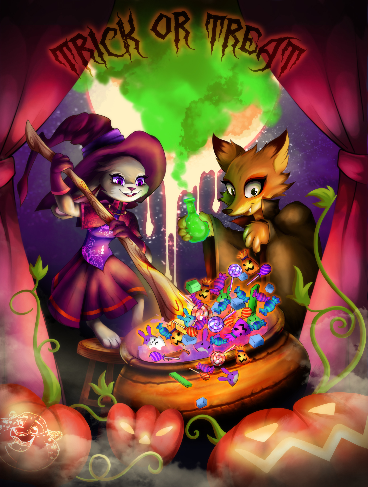 Art of the Day #64: Happy Halloween! – Zootopia News Network