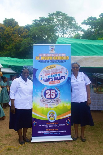 The 25th anniversary of St Joseph's Catholic Nursery and Primary School, Iseyin, Oyo, took place on October 21, 2016