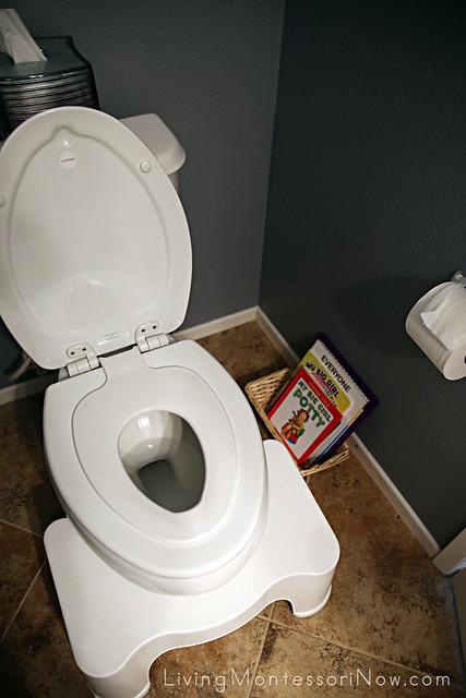 Montessori Toilet Learning Area