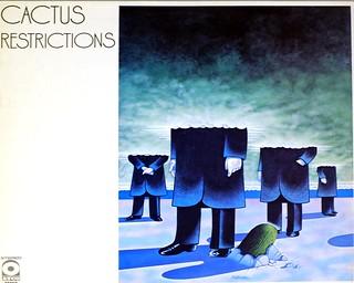 """CACTUS RESTRICTIONS FRANCE 12"""" LP VINYL"""