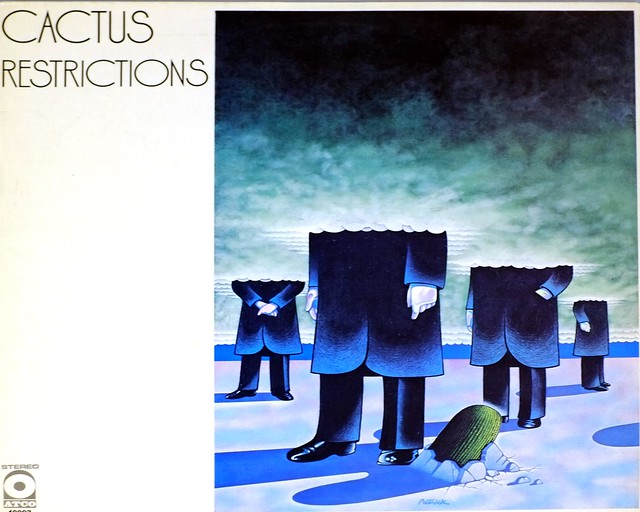 "CACTUS RESTRICTIONS FRANCE 12"" LP VINYL"