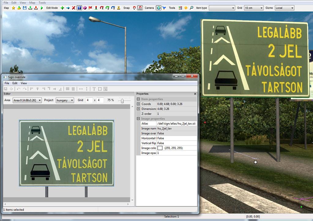 hu_sign_temp25 | ETS2 screenshots | Flickr